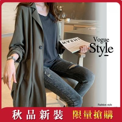[時時樂]2F韓衣-韓系簡約風時尚外套-5款任選(S-2XL)