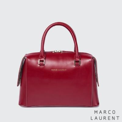 MARCO LAURENT Tower Bridge 牛皮手提肩背包 - 紅色