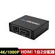 HDMI1.4版一進二出 1分2分配器(附電源變壓器) product thumbnail 1