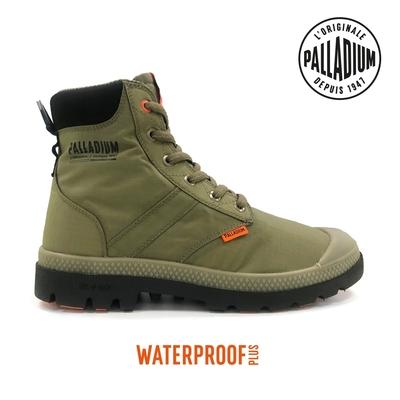 PALLADIUM PAMPA LITE+ SC VAPOR WP+輕量拉鍊防水靴-中性-綠
