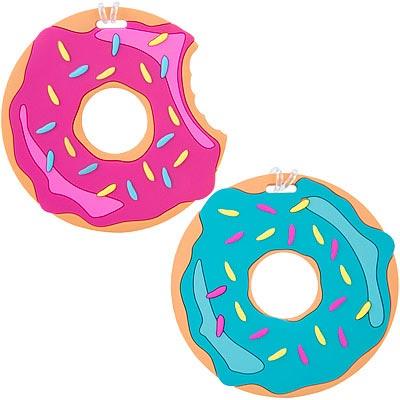 TRAVELON 彈性行李掛牌2件(甜甜圈)