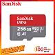 SanDisk Ultra microSDXC UHS-I (A1)256GB記憶卡公司貨 product thumbnail 1