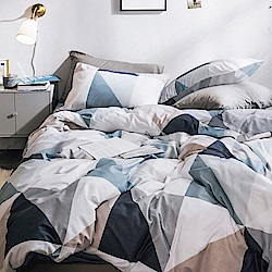 Grace Life 幾何世界 單人法蘭絨被套床包三件組