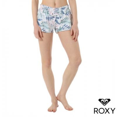 【ROXY】 PARADISE LEAF SHORTS 衝浪褲 白