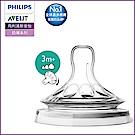 PHILIPS AVENT親乳感防脹氣奶嘴雙入裝 可調速 3M+一字孔 SCF655/23