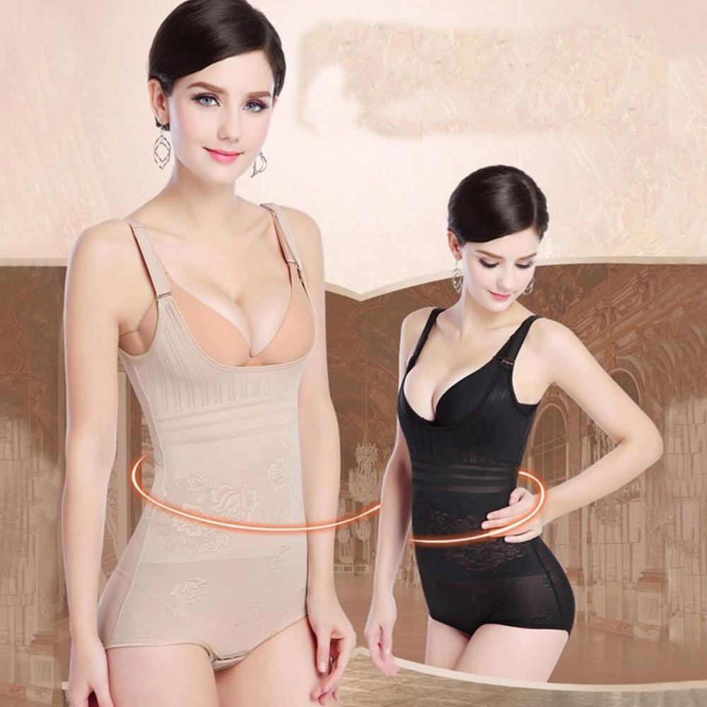 狐狸姬,塑身衣絕色風華透氣修飾連身塑身衣XS-2XL(可選色)