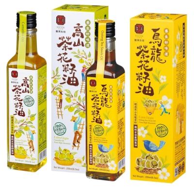 豐滿生技 健康茶籽油2入組(高山茶籽油,烏龍茶籽油各1入)