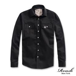 Roush 高磅數落肩設計工裝襯衫(3色)