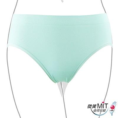 推EASY SHOP-iMEWE 中低腰三角褲(湖水藍)