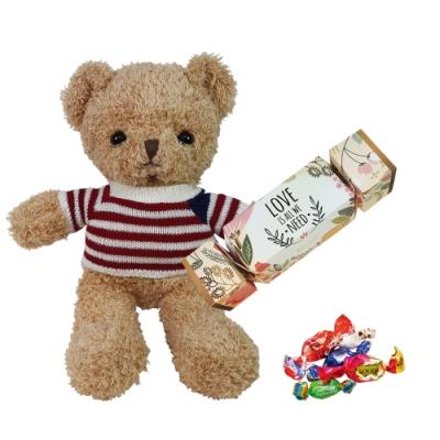 Diva Life 甜心泰迪熊+花漾巧克力禮盒 組合