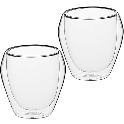 《KitchenCraft》雙層玻璃杯2入(250ml)