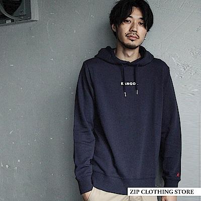 連帽TEE基本素色KANGOL(4色) ZIP日本男裝