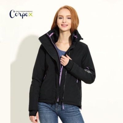 CorpoX 女款科技羽絨防風防水透濕夾克-3M Thinsulate 60g/m2