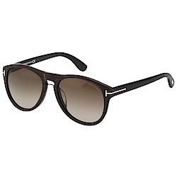 TOMFORD 中性 太陽眼鏡(木紋咖啡色)TF9347