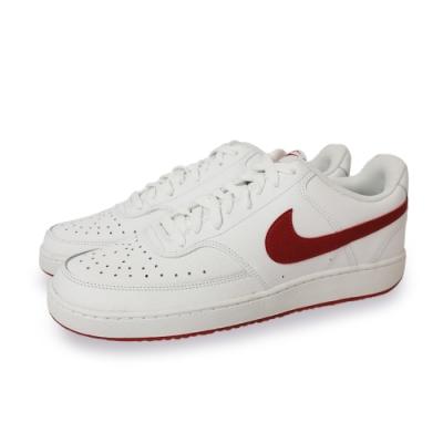 NIKE 休閒鞋 男女鞋 皮革 運動鞋 情侶鞋 白 CD5463102 Court Vision