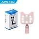 【APEXEL】LED美拍補光燈-粉色(APL-FL01) product thumbnail 1