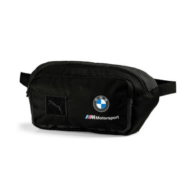 PUMA-男女BMW M MSP腰包-黑色