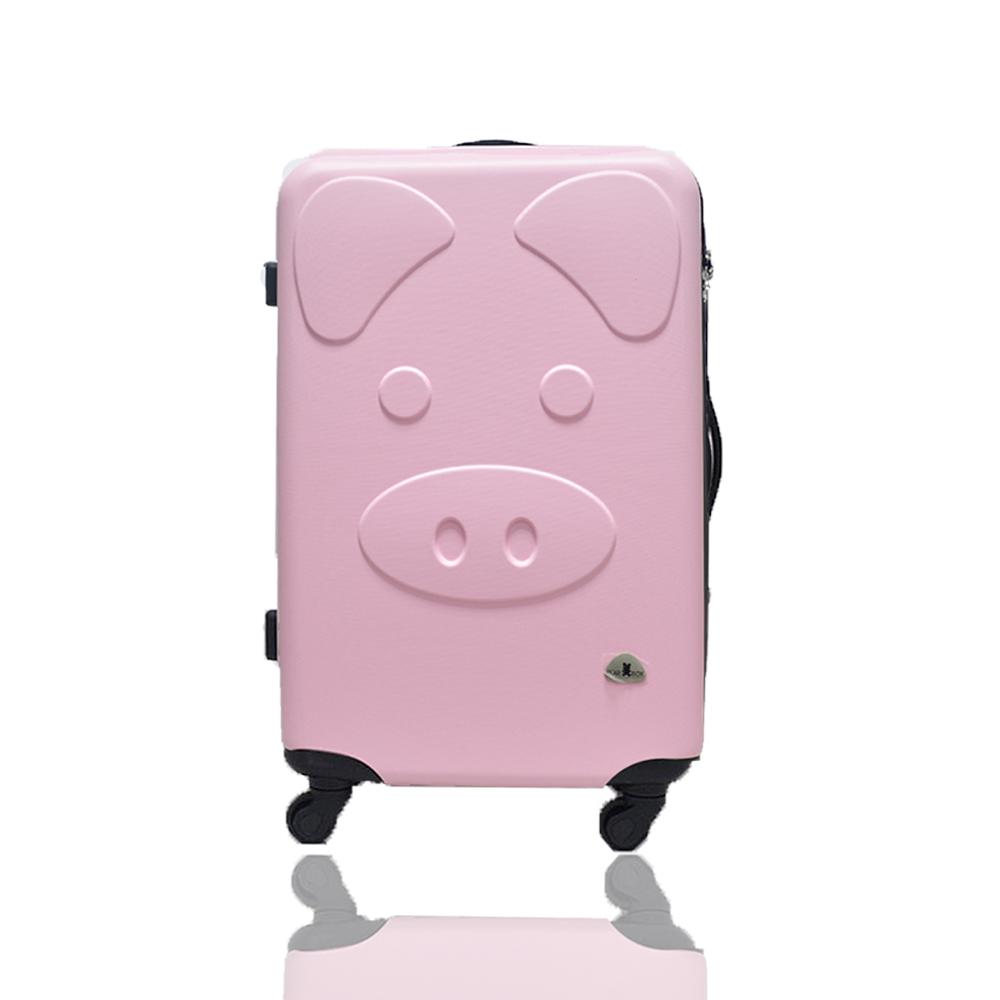 BEAR BOX 三隻小豬之豬事如意系列28吋/輕硬殼行李箱-粉紅