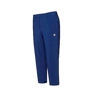 FILA 女款抗UV平織七分褲-藍紫 5PNT-1327-DB
