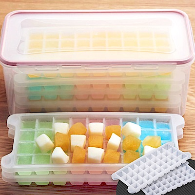 Ezlife 144格密封蓋製冰盒套組