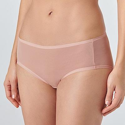 黛安芬-無鋼圈無痕系列平口內褲 M-EL(經典膚)