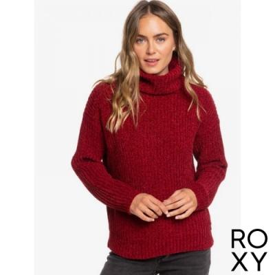 【ROXY】VELVET MORNING 針織衫 紫紅