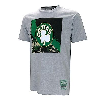 M&N NBA迷彩塗鴉球隊短袖T恤 塞爾提克