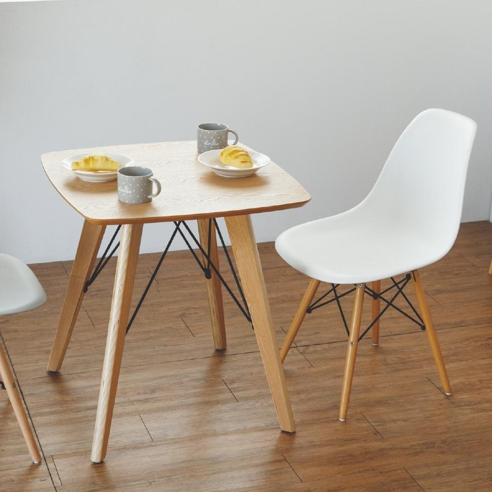 Home Feeling 經典款木作方形餐桌/邊桌/咖啡桌