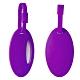 【 Travel Blue 藍旅 】 Neon 螢光行李掛牌(2入/組) 紫色 TB015-PR product thumbnail 2