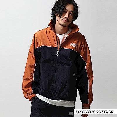 運動風尼龍夾克外套(3色) ZIP日本男裝