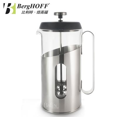 【比利時 BergHOFF】Essentials系列 法式濾壓壺 1000ml(不鏽鋼把手)