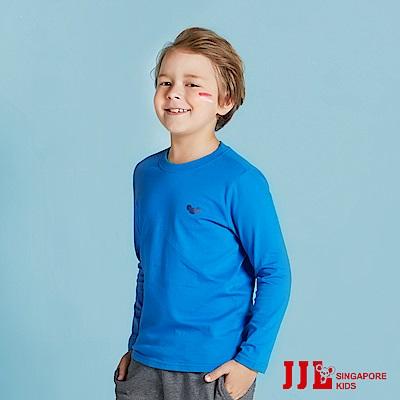 JJLKIDS 百搭考拉素面純棉T(彩藍)