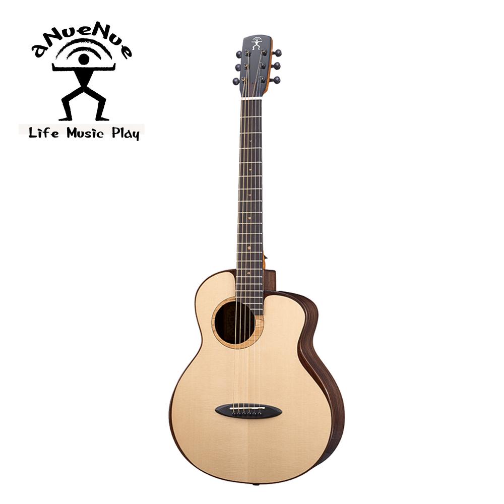 aNueNue M200E 飛鳥 全單電木吉他 月亮雲杉印度玫瑰木