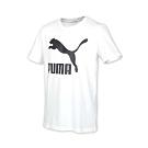 PUMA 男 流行系列短袖T恤 白黑