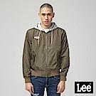Lee 連帽可拆飛行夾克-墨綠色