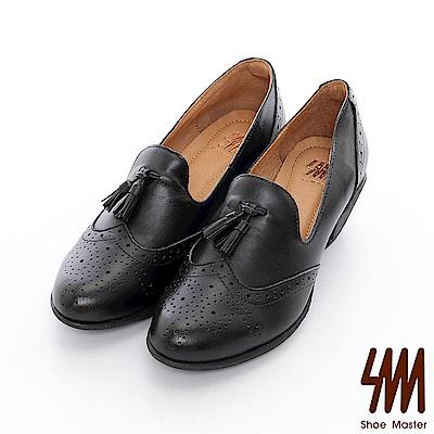 SM-英倫復古風皮鞋( 2 色)