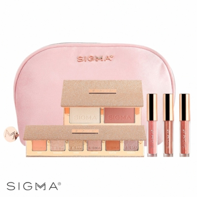 Sigma 限量極致煥顏彩妝五件組+隨行化妝包 Rendezvous Makeup Collection