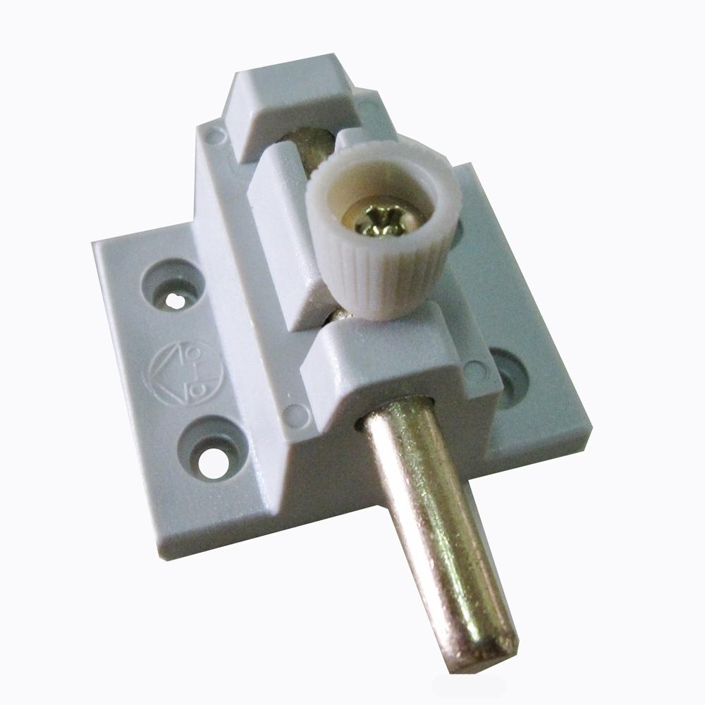 HE008 鋁門銅心門栓/落地門閂座 銅心非鐵心 塑膠製 栓座/高閂/高腳門閂/高栓