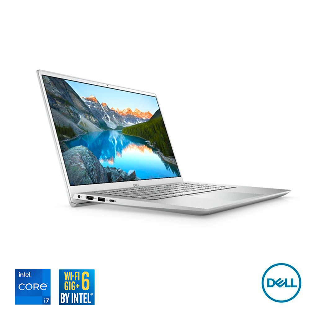 DELL Inspiron 5000 14吋筆電 (I7-1165G7/16G/512G/MX350/Win10/白金銀) product image 1