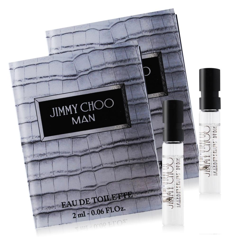 JIMMY CHOO 同名男性淡香水針管2mlX2