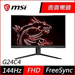 MSI微星 Optix G24C4 24型 電競曲面螢幕