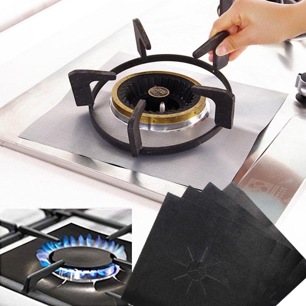 CityShop 廚房防油耐高溫煤氣灶保護墊(4片裝)-14包