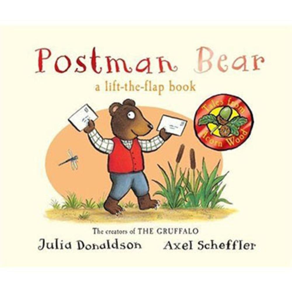 Tales From Acorn Wood:Postman Bear 熊熊宅急便硬頁翻翻書