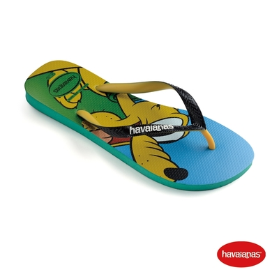 Havaianas哈瓦仕 拖鞋 高飛 夾腳拖 人字拖 巴西 男鞋 女鞋 藍綠 4123500-2078U Disney Stylish 迪士尼