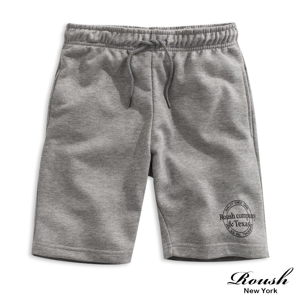 Roush TEXAS美式印花短棉褲(2色)