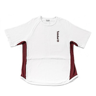 Timberland 男款白色短袖 T 恤 | A1NIY100