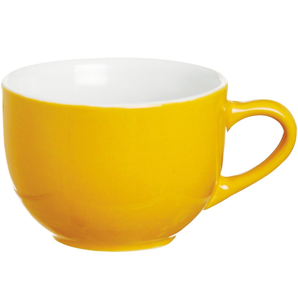 《EXCELSA》陶製濃縮咖啡杯(黃80ml)