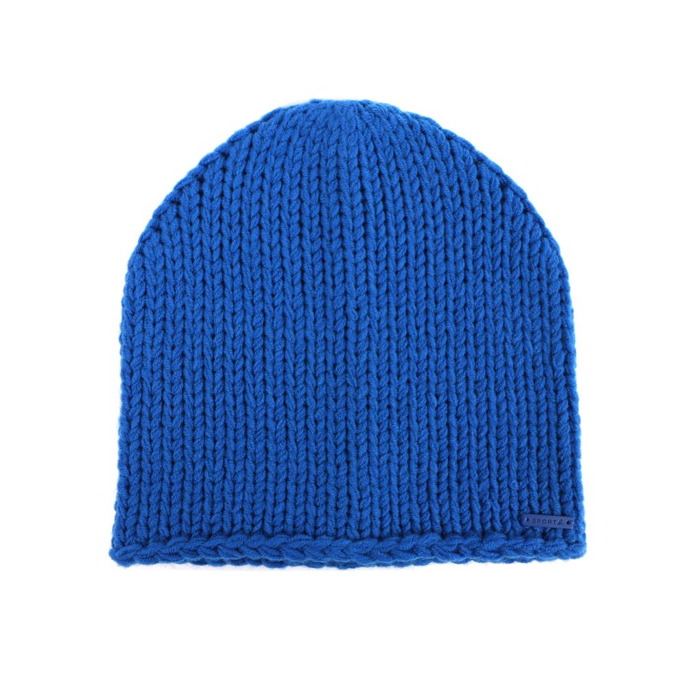 Agnes b.Sport b.針織毛線帽 (藍)