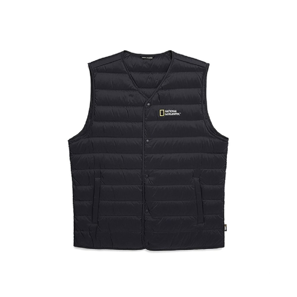 NATIONAL GEOGRAPHIC 男 Calis light goose down vest 羽絨背心 海軍藍-N204MDV210167 product image 1