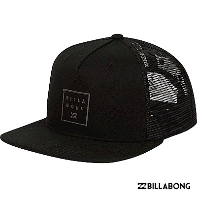 BILLABONG-STACKED TRUCKER棒球帽-黑